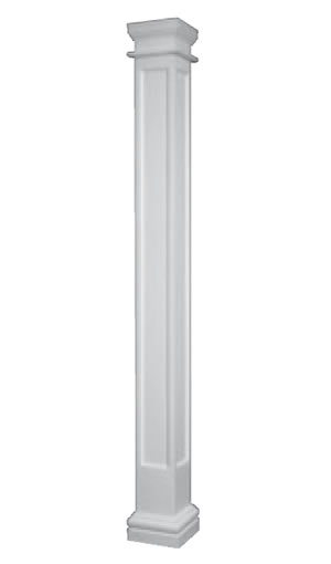 Interior decorative support columns posts pillars mdf for Decorative support columns