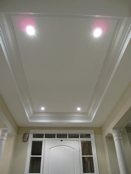 MDF & Wood Crown Mouldings Installation