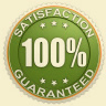 100 percent customer satisfaction guaranteed